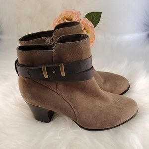 NWOT GIANI BERNINI SUEDE LEATHER BOOTS SIZE 7.5